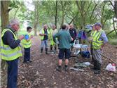 Joint Task with Eastleigh Ramblers